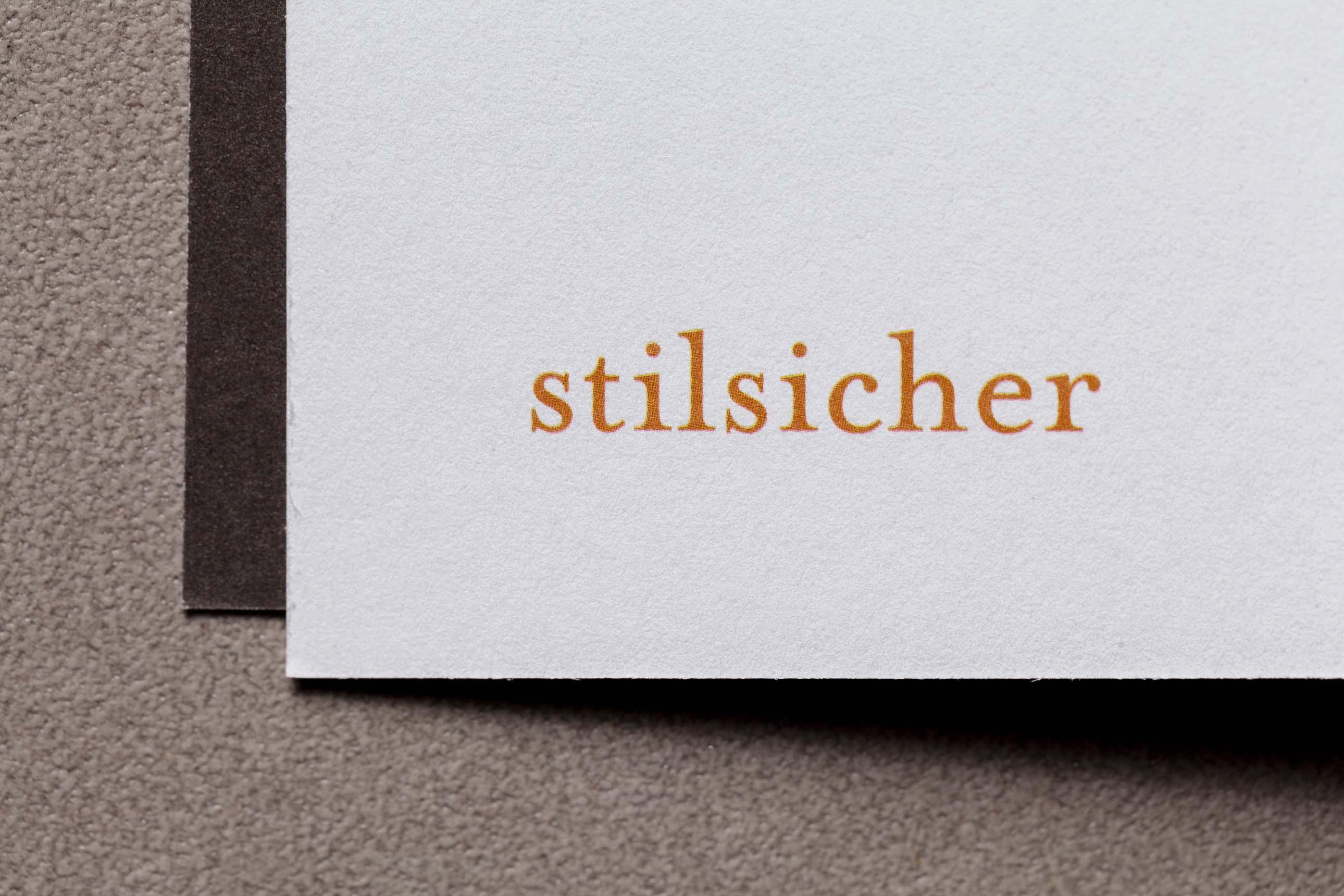 Typografische Details der Imagebroschüre vom Lektorat 3KANDT