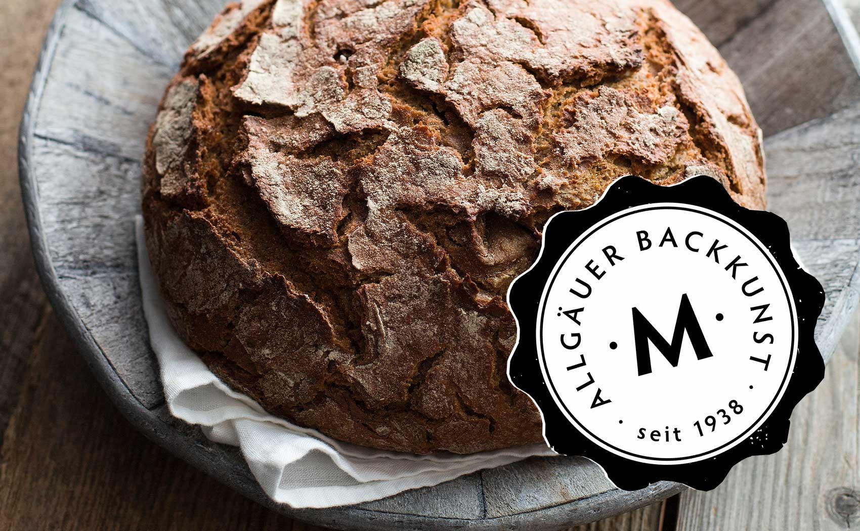 Grafikdesign für Back Mayr aus dem Allgäu