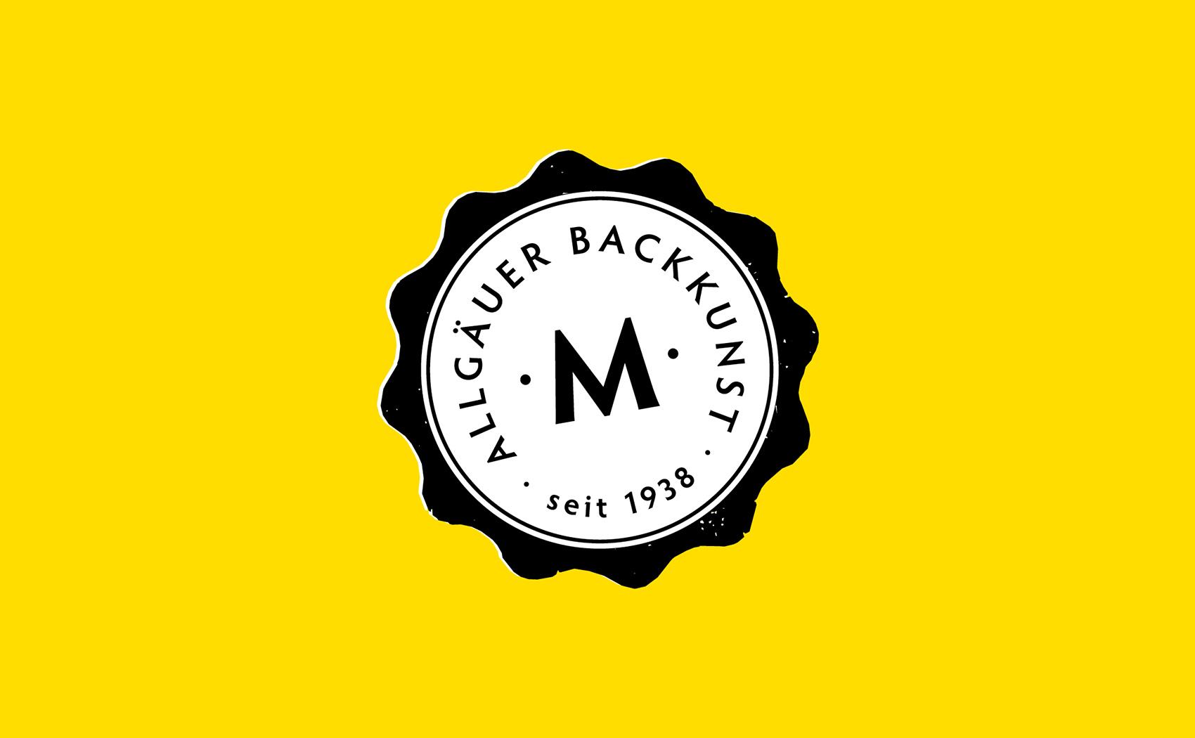 Logodesign und Entwicklung eines Siegels für die Bäckerei Back Mayr GmbH aus Mindelheim