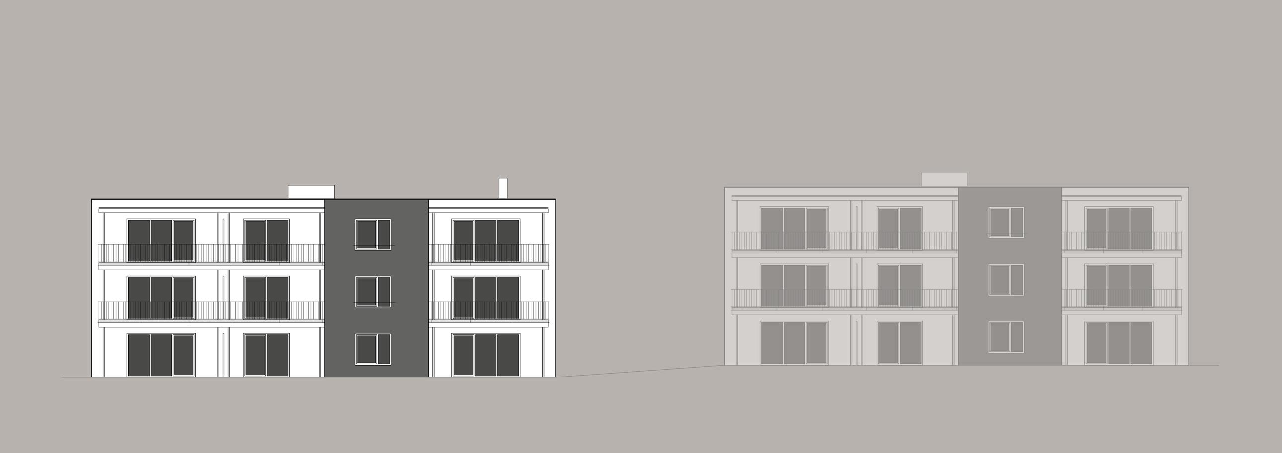 Bauzeichnungen und Grundrisse für Exposés