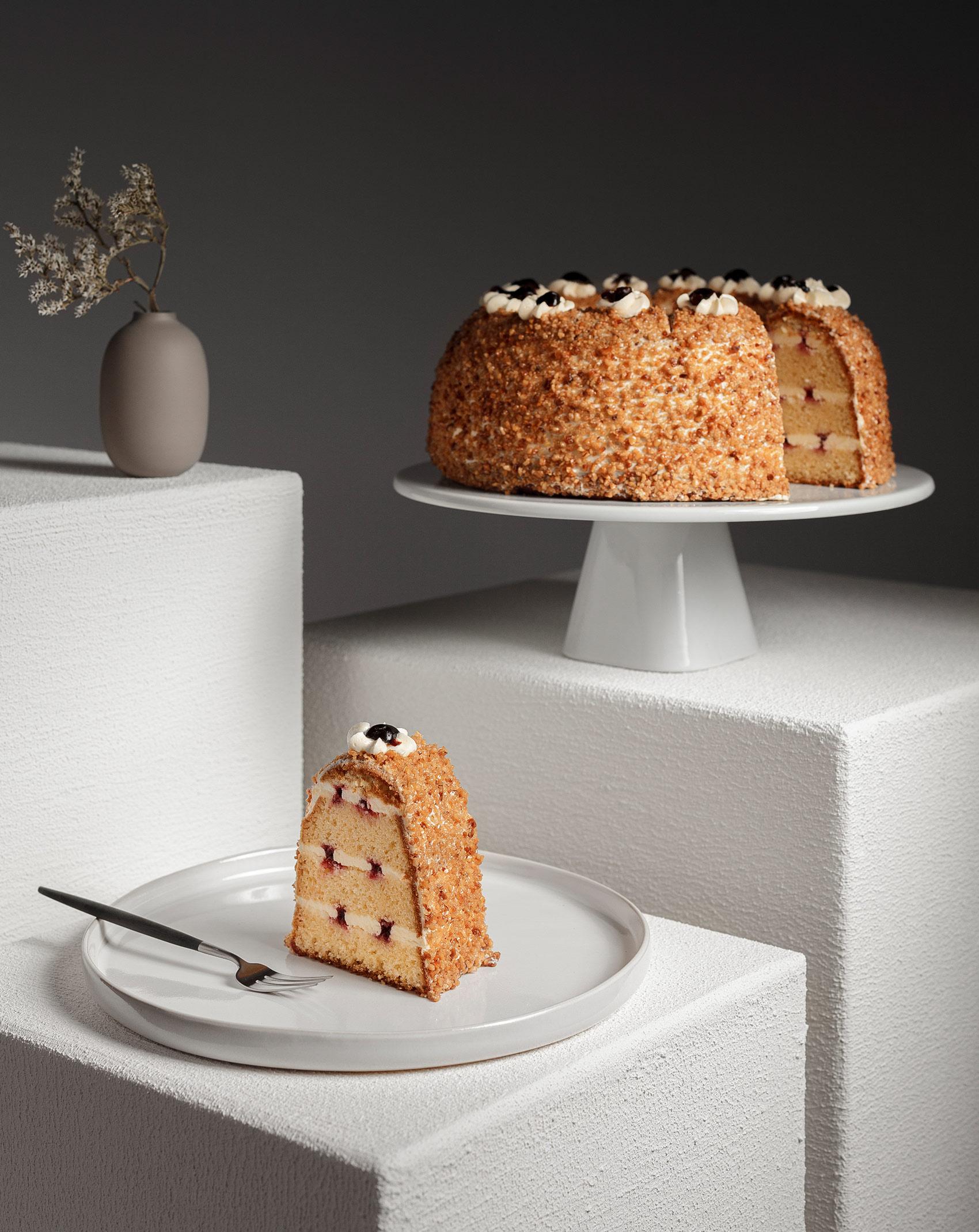 Fotodesign und edle Torten für den neuen Vertriebskatalog der Tiefkühlkonditorei Brommler