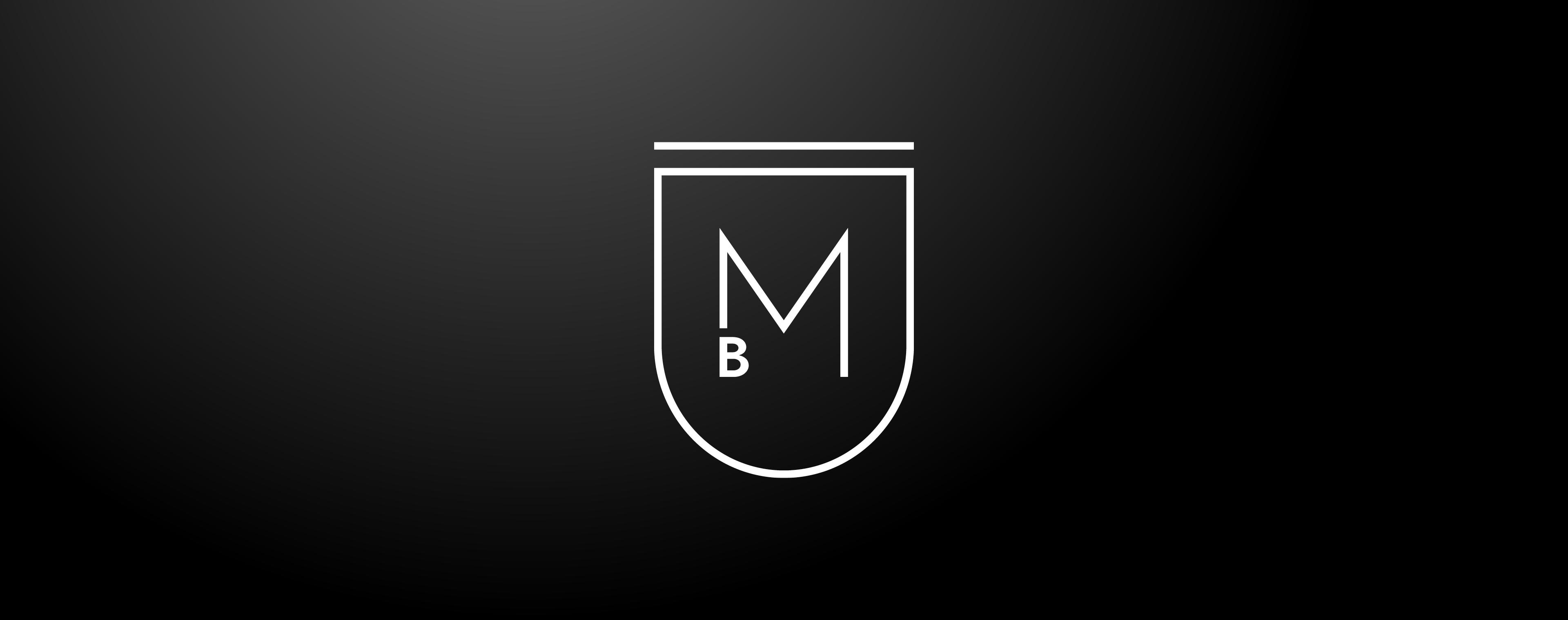 Design eines modernen Wappens für Cateringkunst Bernhard Munding