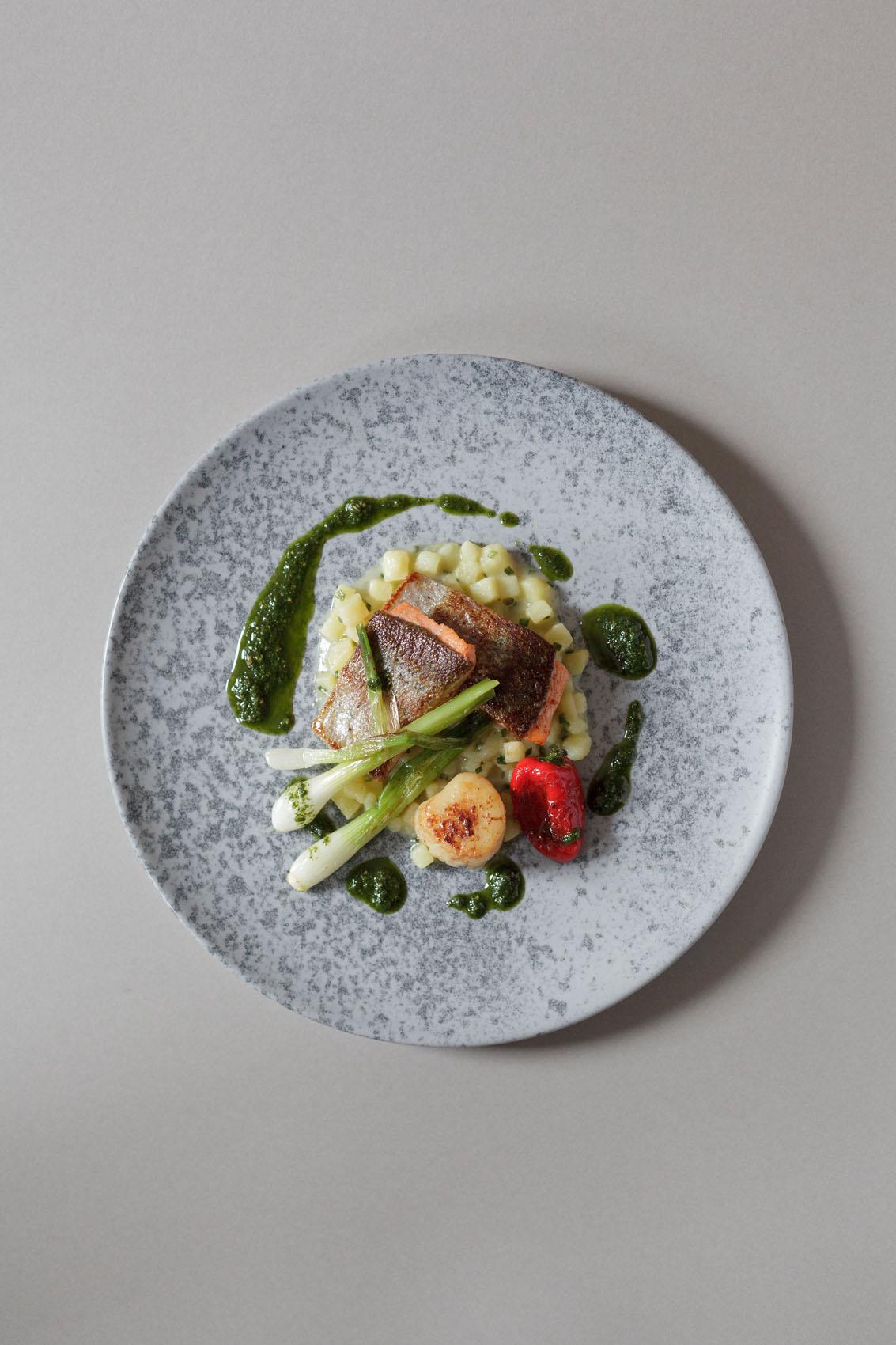 Foodfoto im Gasthof Adler von Koch Bernhard Munding aus Frechenrieden im Unterallgäu