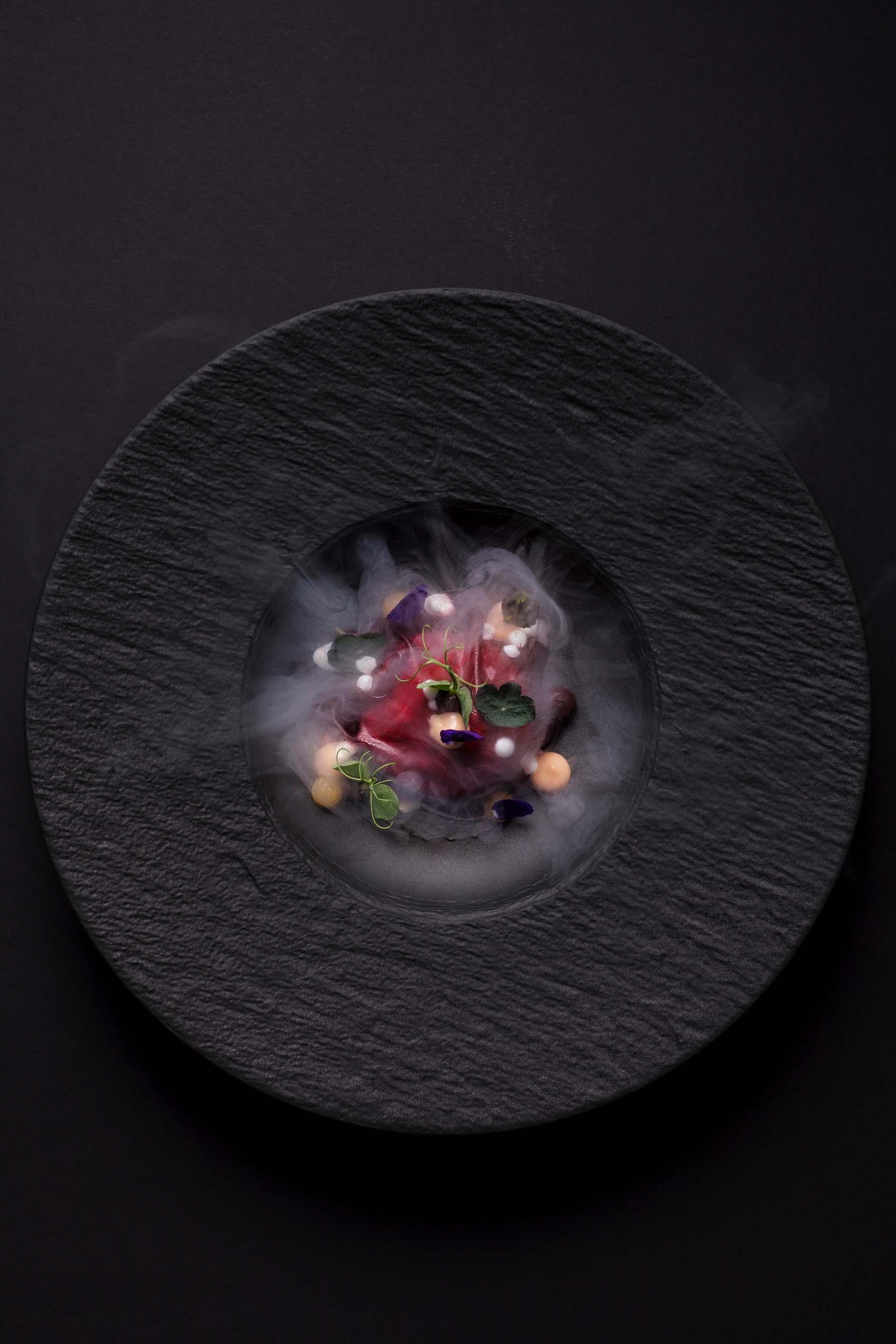 Foodfotografie für das Gourmetrestaurant Aubergine
