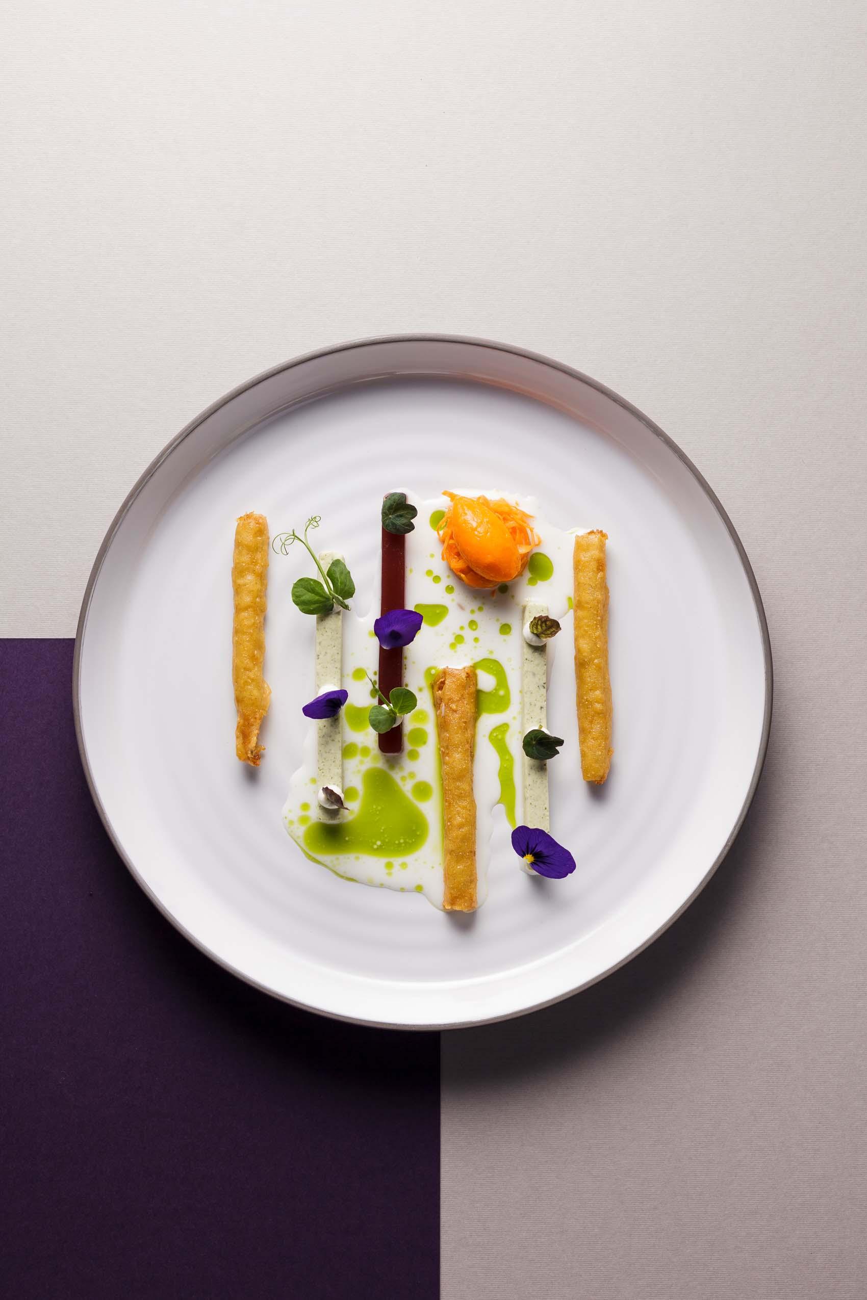 Foodfotografie für das Gourmetrestaurant Aubergine in Starnberg bei München
