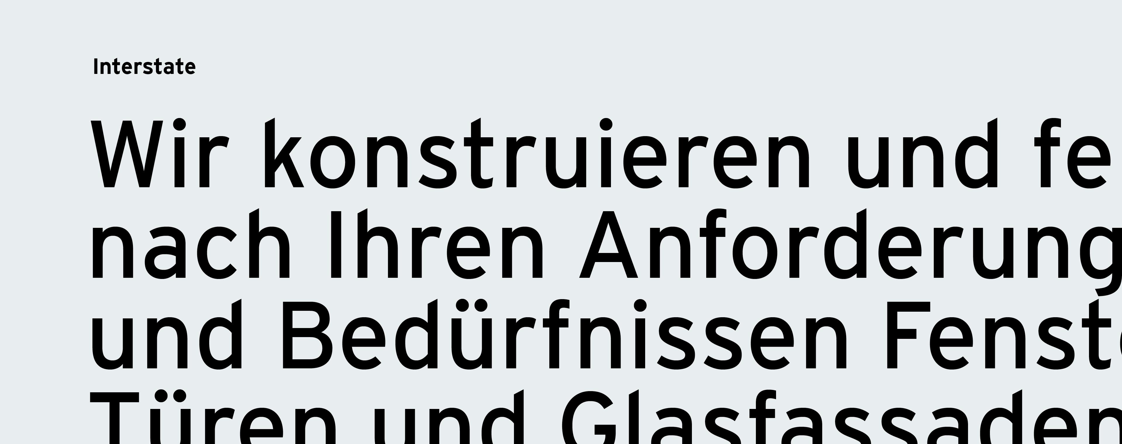 Typografie ist im Grafikdesign und Corporate Design ein wichtiger Faktor für eine ansprechende Gestaltung
