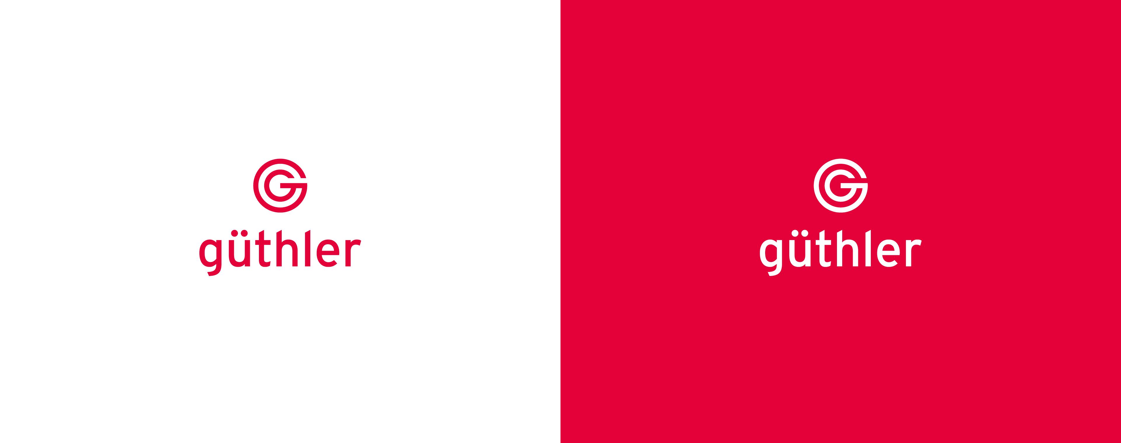 Identity Design mit Logodesign für Güthler Glasfassaden