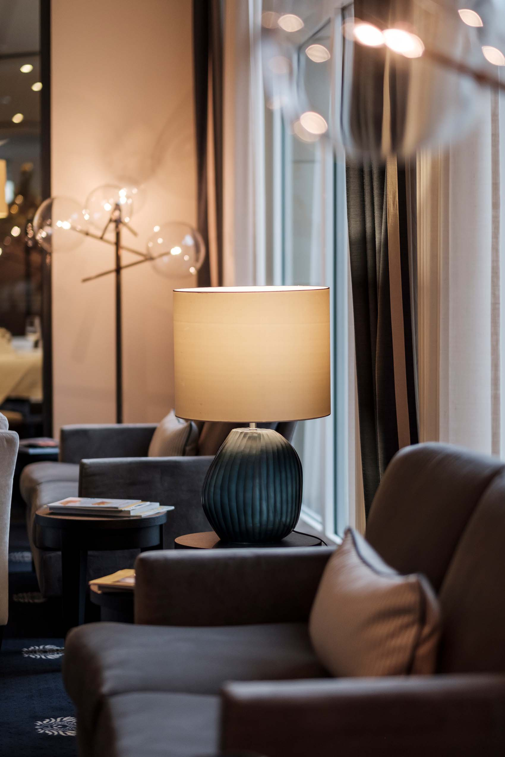 Imagefotos in der Hotellobby des Hotel Vier Jahreszeiten Starnberg