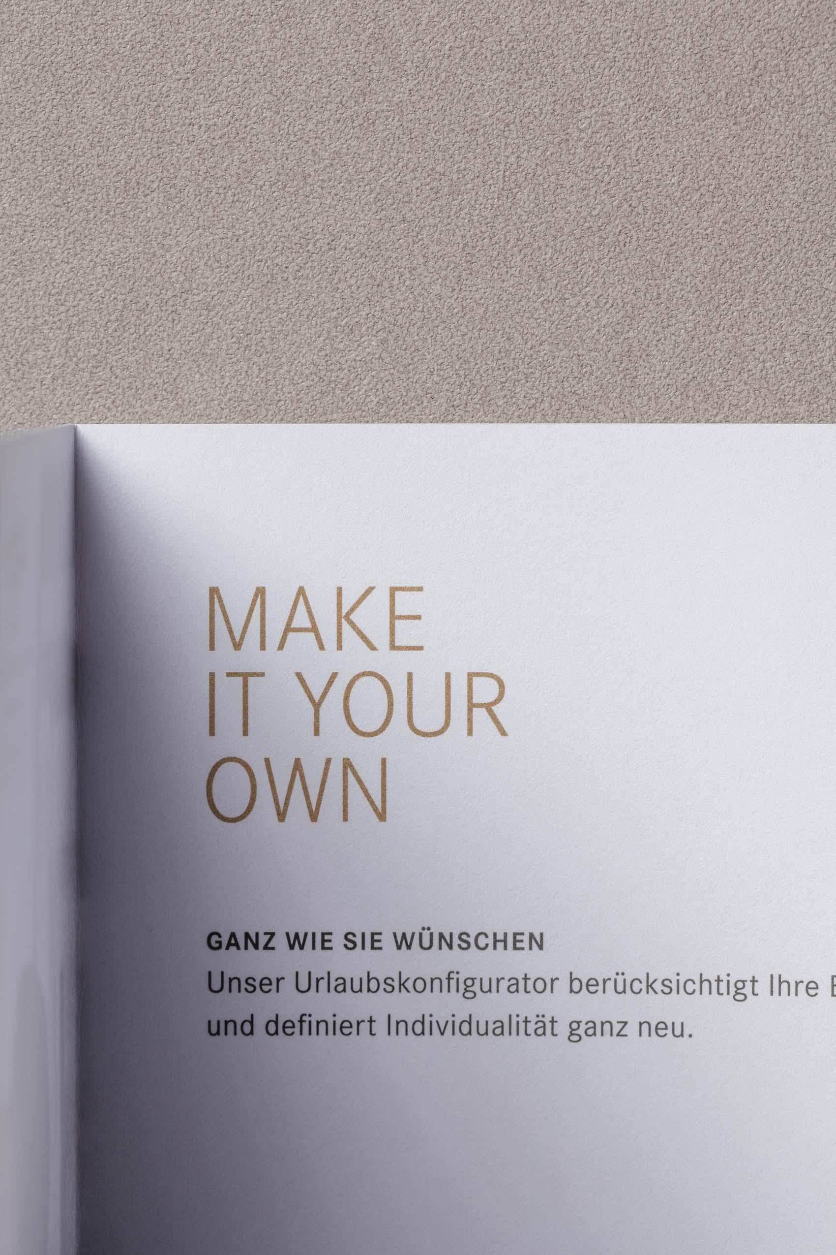 Agentur für Hotelbroschüren und Corporate Design für Hotels