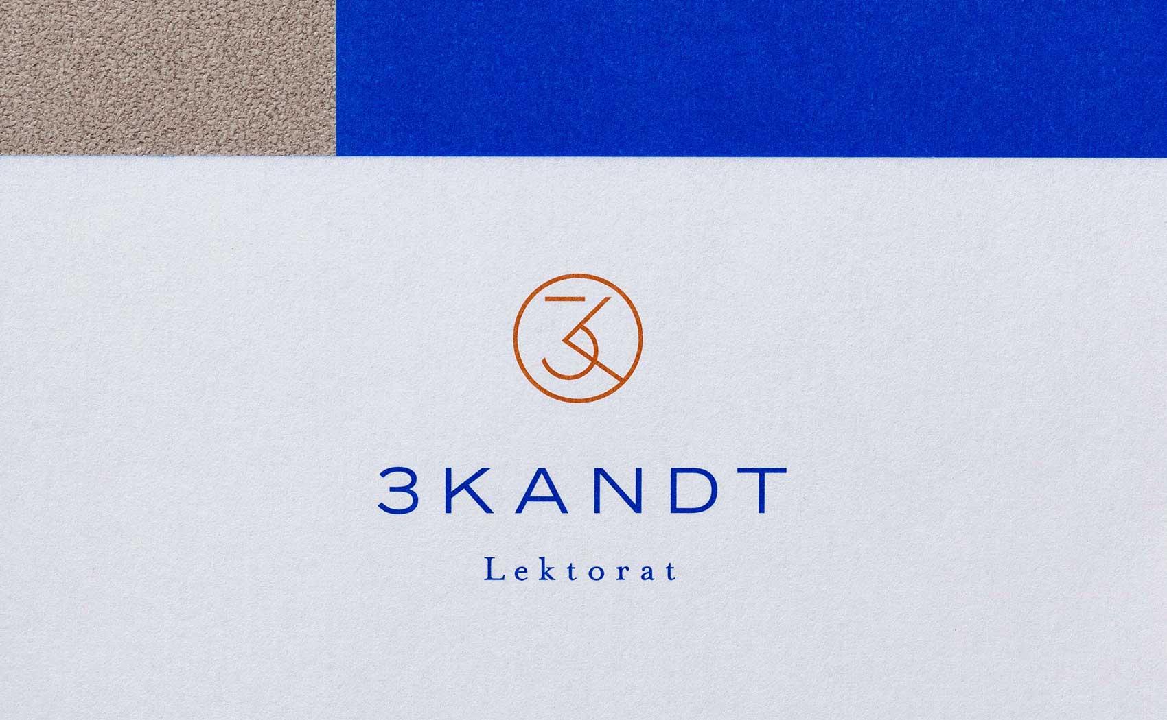 Logo- und Grafikdesign für Lektorat 3KANDT aus Memmingen