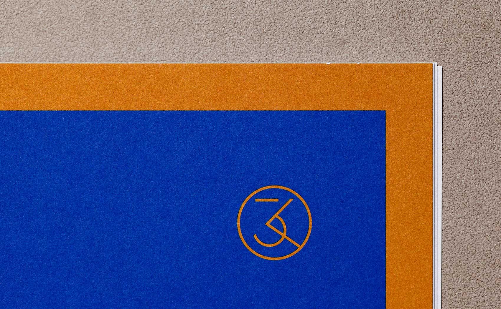 Icondesign als Logo und kräftige Farben im Corporate Design vom Lektorat 3KANDT