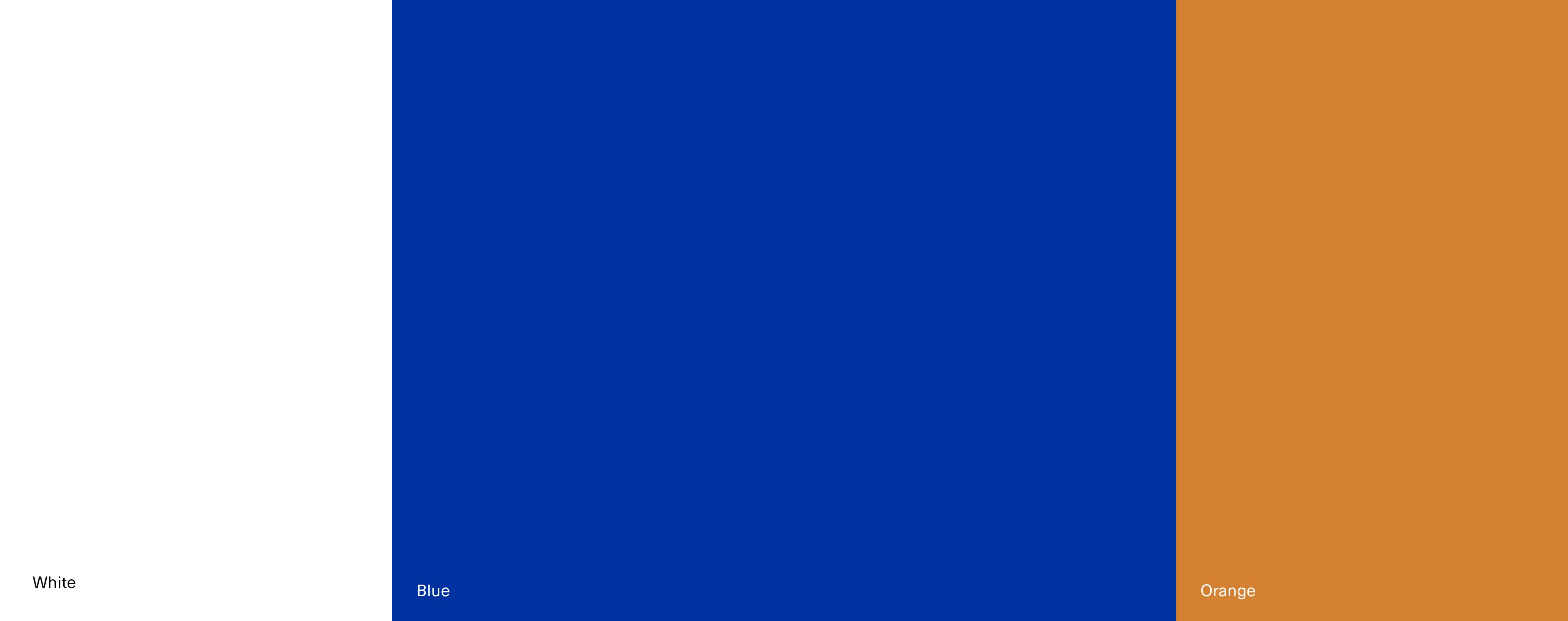 Kräftige und markante Farben für das Corporate Design von Lektorat 3KANDT