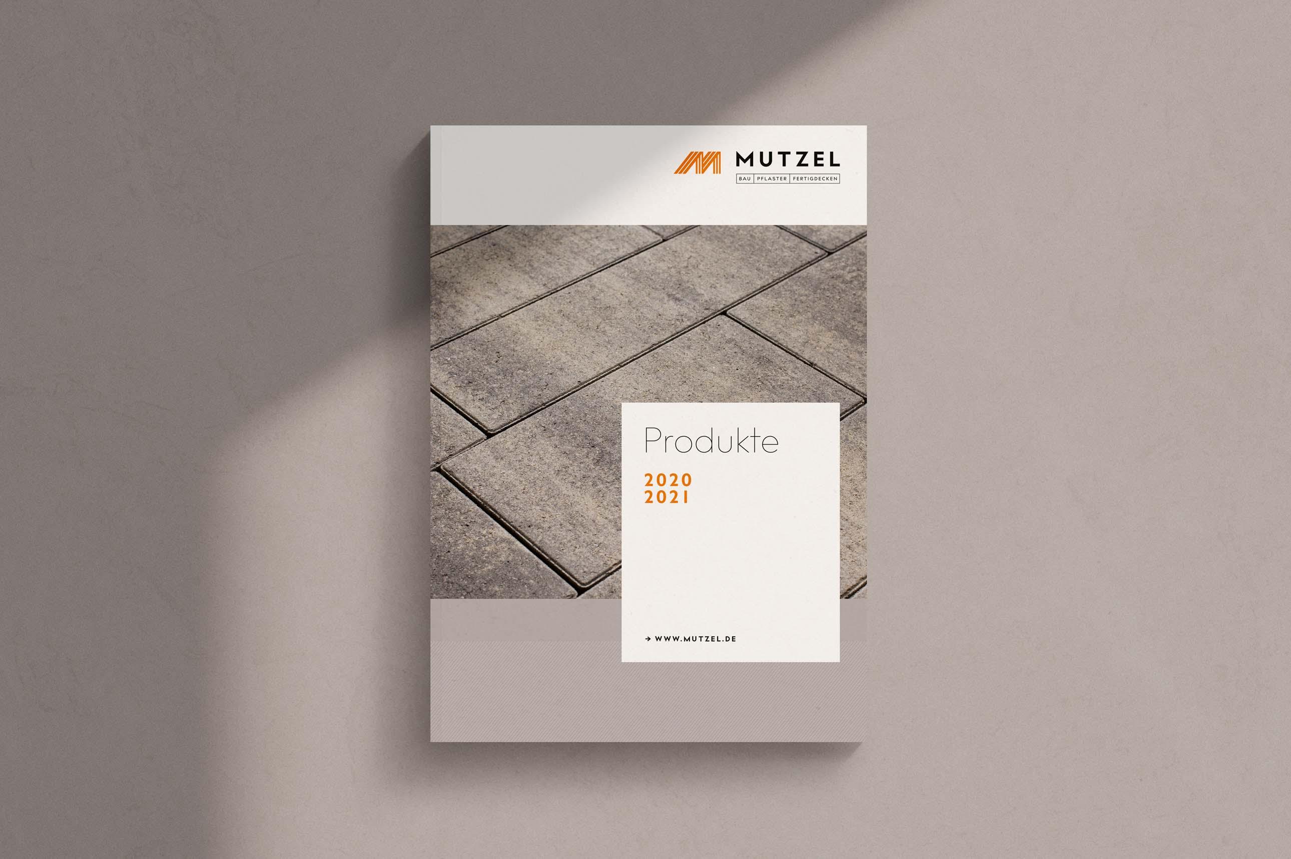 Produktkatalog für Bauunternehmen Mutzel
