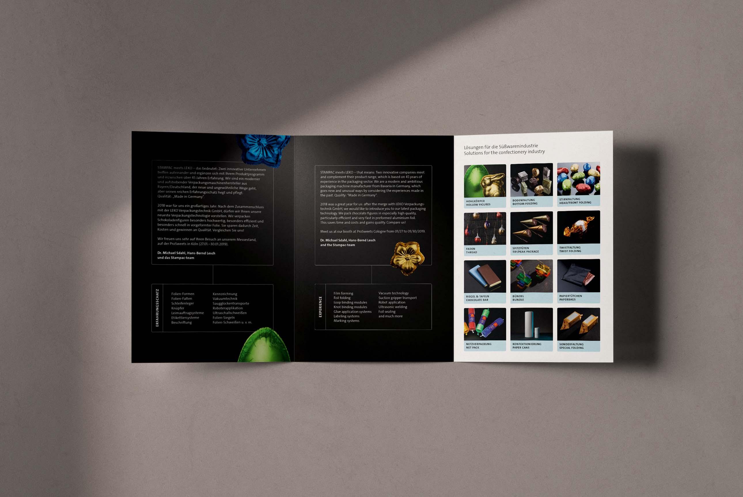Flyer und Produktvorstellung – Werbung und Marketing für Maschinenbau
