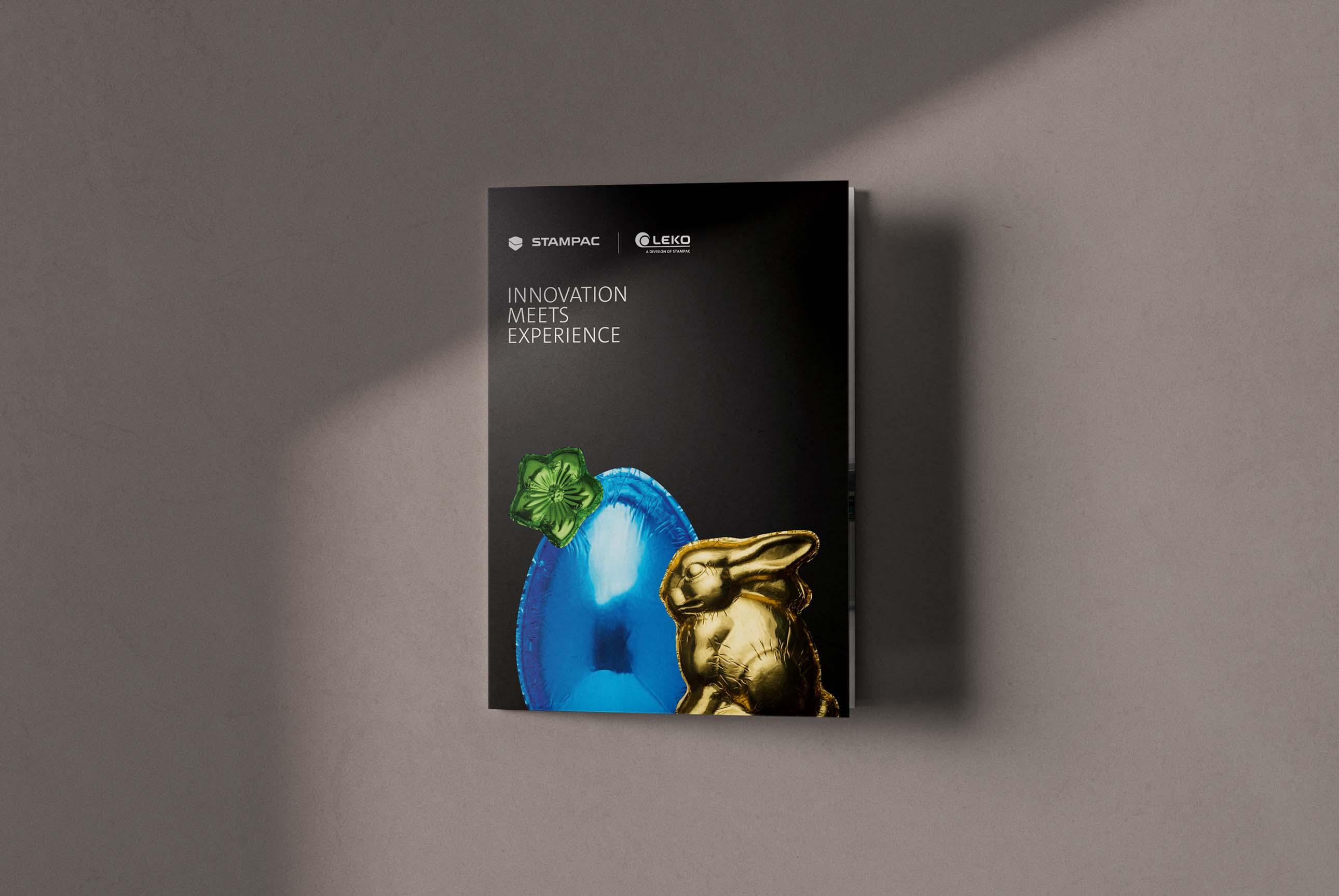 Marketing mit Flyer und Broschüre für Verpackungsmaschinen