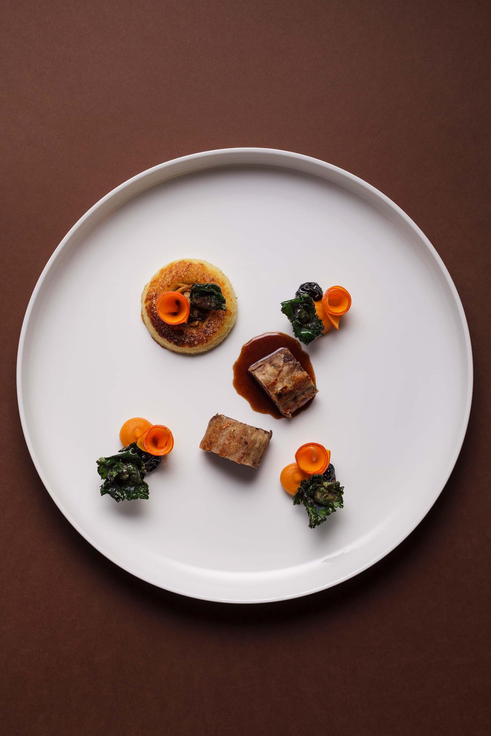 Food-Kreationen von Sternekoch Max Moser im Aubergine Starnberg