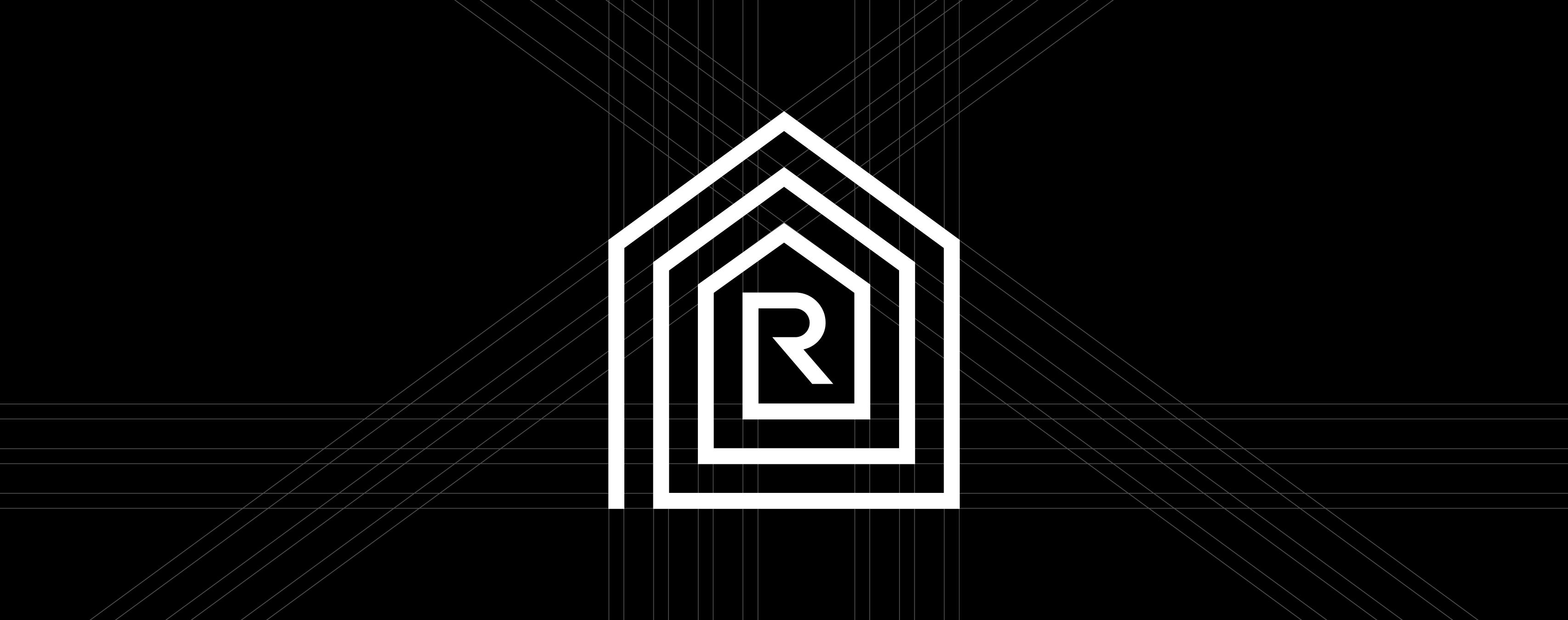 Logodesign und Signetentwicklung für Syno R GmbH, Hersteller von Vollholzhäusern im Allgäu