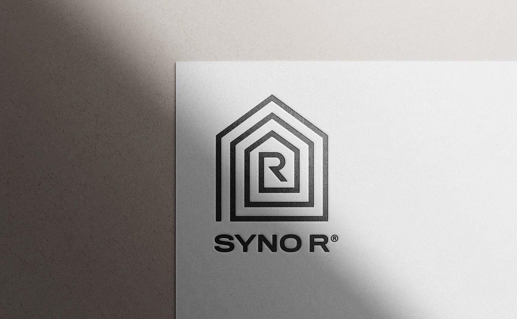Logodesign für den Allgäuer Holzhaus-Hersteller Syno R GmbH
