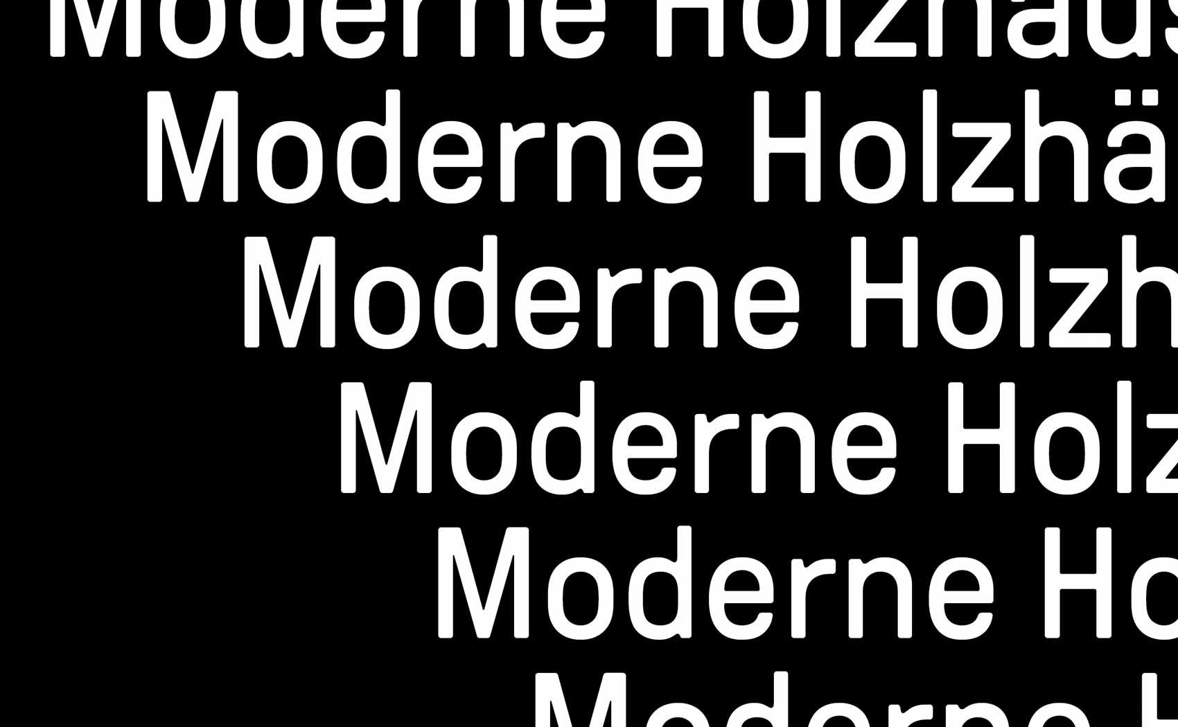 Moderne Typografie und cleanes Grafikdesign für Syno R GmbH