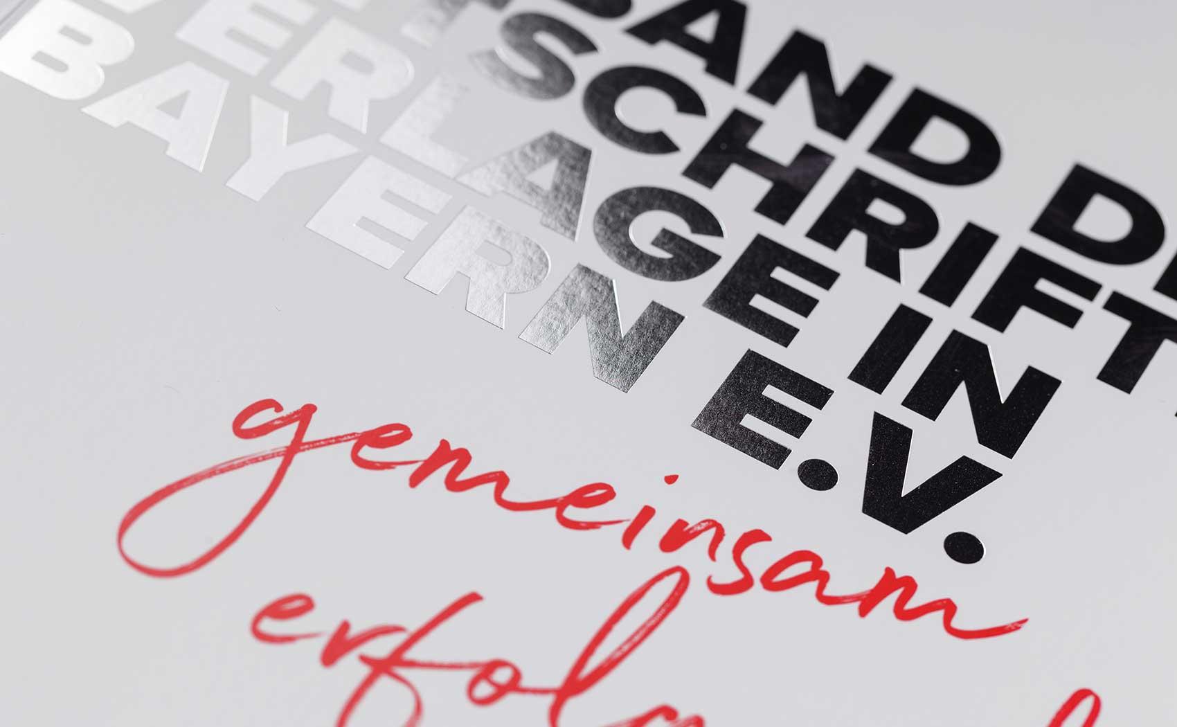 Editorial Design für den Verband der Zeitschriftenverlage in München