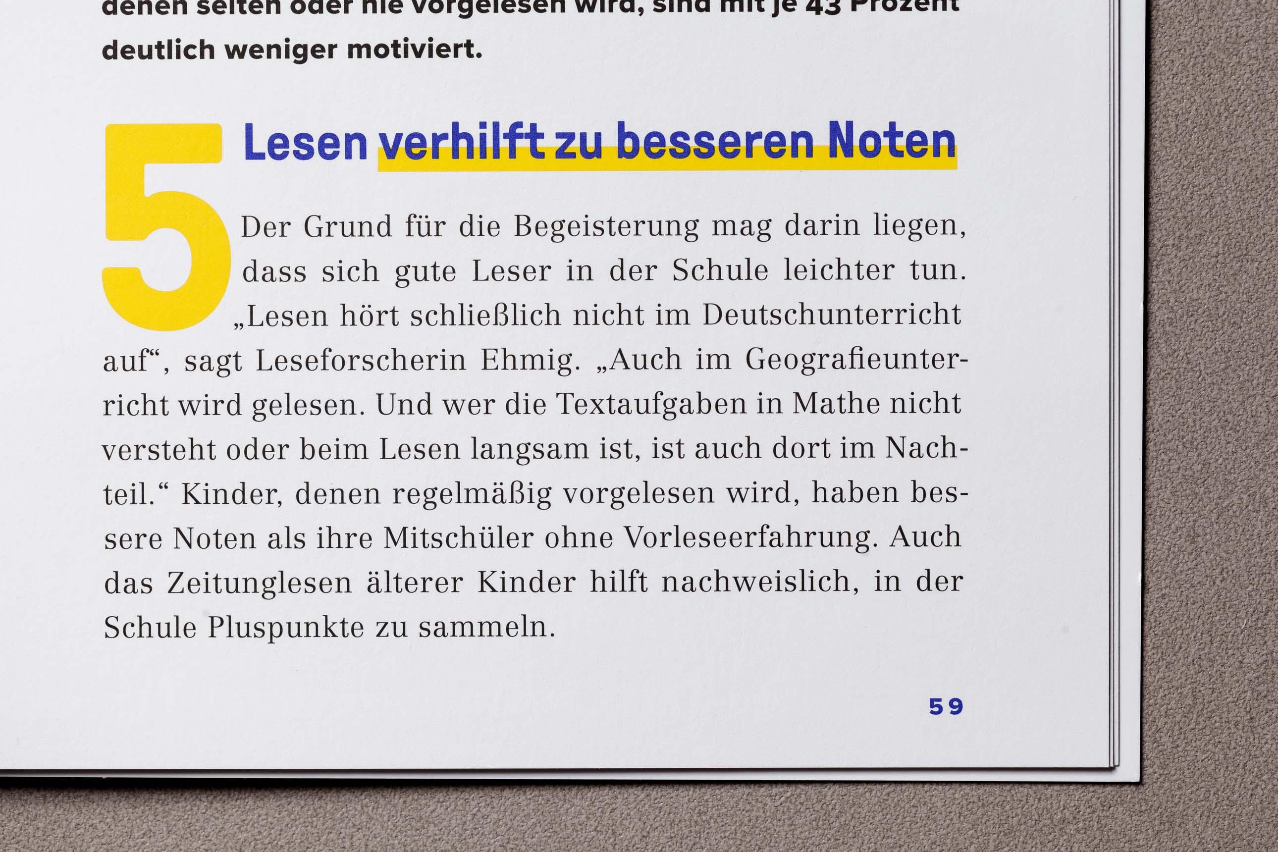 Designdetails im VZB-Magazin
