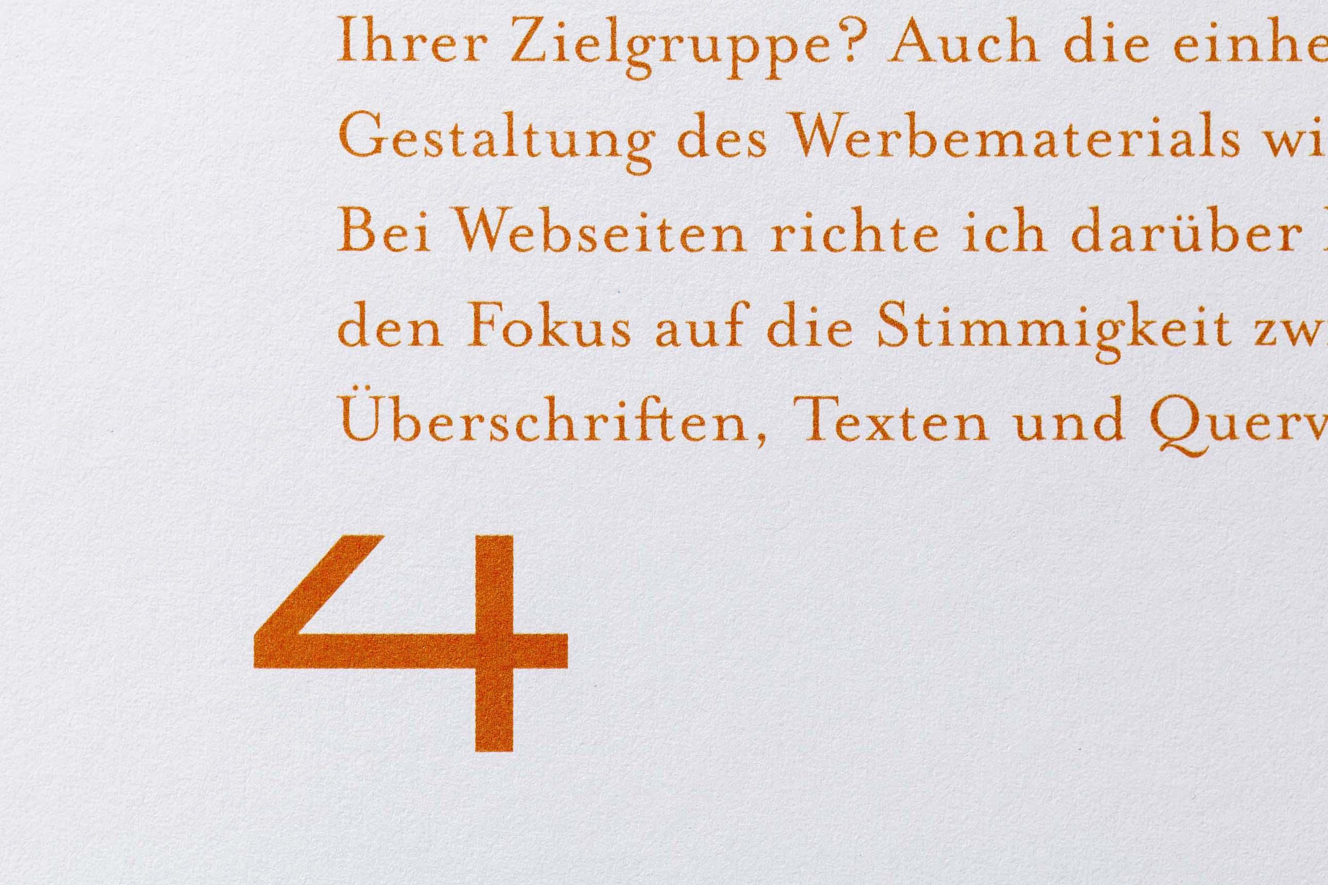 Grafikdesign für das Werbelektorat 3KANDT aus Memmingen