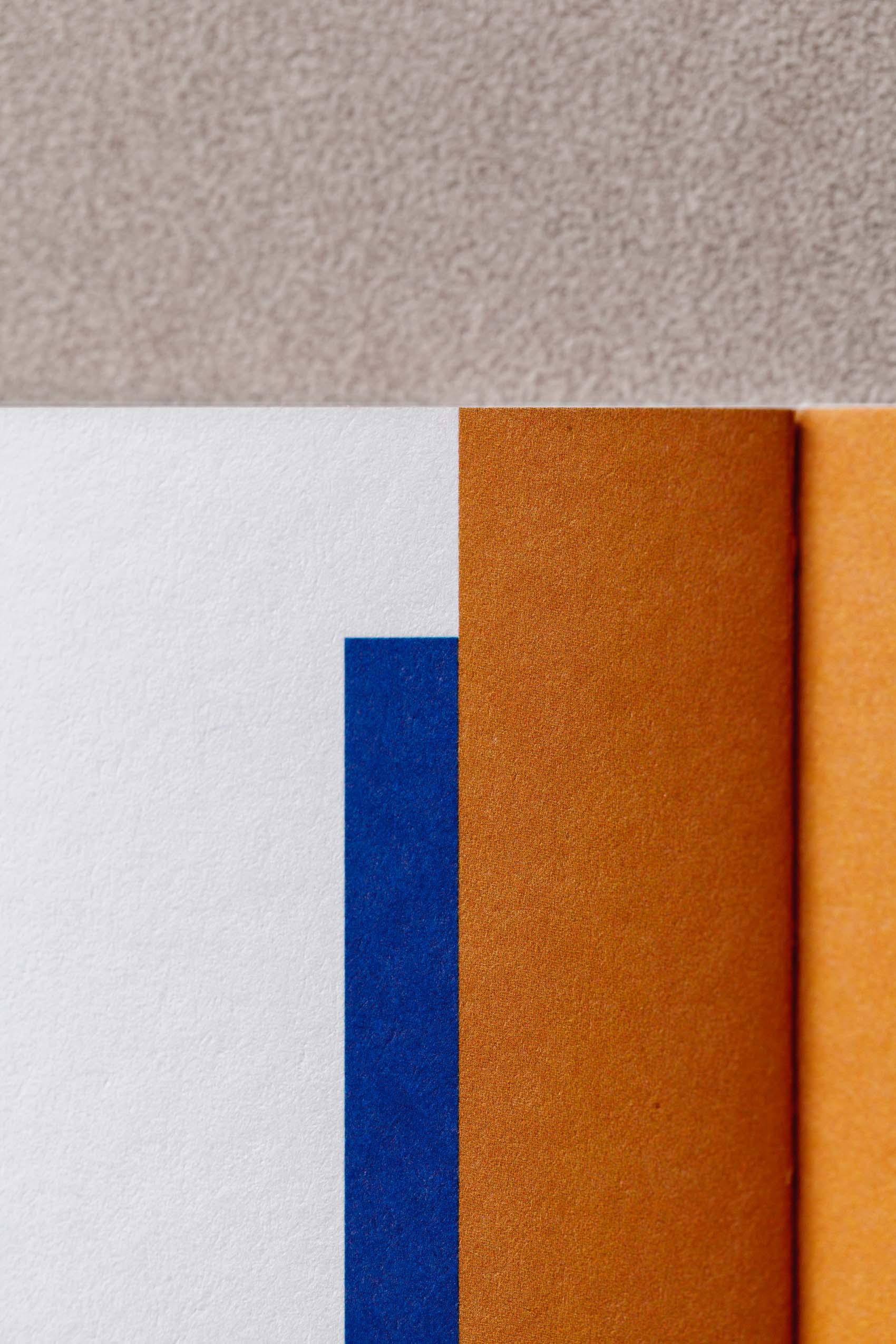 Designdetails im Grafikdesign für Werbe- und Marketinglektorat 3KANDT